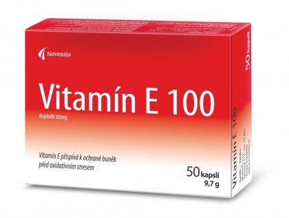 Vitamin E 100 detail photo