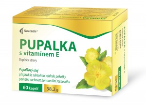 Evening primrose with vitamin E photo