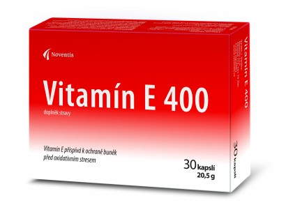 Vitamín E 400 detail photo