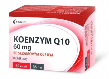 Koenzym Q 10, 60 mg se sezamovým olejem detail photo